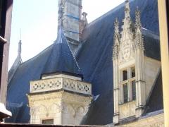 Hôtel ou Palais Jacques-Coeur - Cour du palais Jacques-Cœur, Bourges (Cher, France)