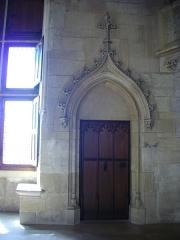 Hôtel ou Palais Jacques-Coeur - Palais Jacques-Cœur, Bourges (Cher, France): salle des festins