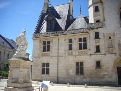 Hôtel ou Palais Jacques-Coeur - Palais Jacques-Cœur, Bourges (Cher, France), façade sur rue Jacques-Cœur