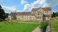 Ancienne abbaye de Noirlac - Français:   Abbaye de Noirlac, Cher, 2014.
