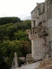 Château - Architecture de l'intérieur de la deuxième tour en ruine