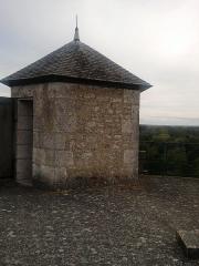 Château - Tourelle située au sommet de la première tour