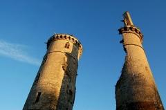 Château - Tours du château de Mehun sur Yèvre, Cher
