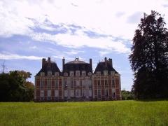 Château de Lagrange-Montalivet - English: North side of the Château de Montalivet-Lagrange (department of Cher, France).