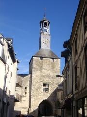 Beffroi - Français:   Beffroi de Vierzon (Cher, France), côté ouest