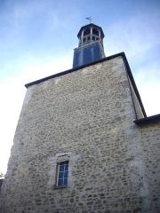Beffroi - Français:   Beffroi de Vierzon (Cher, France), côté est