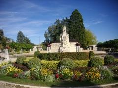 Jardin de l'Abbaye, dit aussi square Lucien Beaufrère - Français:   Square Lucien-Beaufrère, à Vierzon (Cher, France)