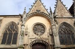 Eglise Saint-Jean-Baptiste - Église Saint-Jean-Baptiste de La Bazoche-Gouet en France.