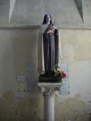 Eglise Saint-Pierre - Intérieur de l'église Saint-Pierre de Chartres (Eure-et-Loir, France): sainte Thérèse