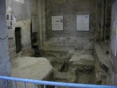 Eglise Saint-Pierre - Intérieur de l'église Saint-Pierre de Chartres (Eure-et-Loir, France): fouilles dans la tour