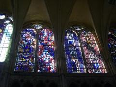 Eglise Saint-Pierre - Intérieur de l'église Saint-Pierre de Chartres (Eure-et-Loir, France)