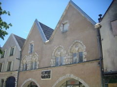 Maison dite Maison de la Voûte, ancien grenier à sel - Français:   Maison de la Voûte, place du Cygne, Chartres (Eure-et-Loir, France)