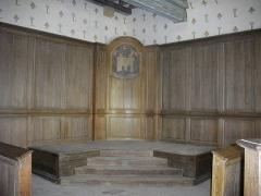 Château et ses abords - Aile Dunois du château de Châteaudun (Eure-et-Loir, France), salle de justice