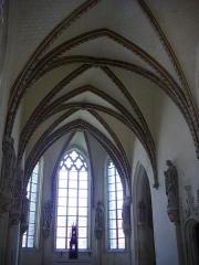 Château et ses abords - Sainte chapelle du château de Châteaudun (Eure-et-Loir, France)