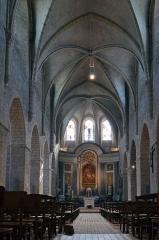 Eglise Saint-Valérien - Français:   Vaisseau central de l\'église St Valérien, Chateaudun, Eure et Loir, France
