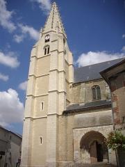 Eglise Saint-Valérien - Français:   Église Saint-Valérien de Châteaudun (Eure-et-Loir, France), tour et porche sud