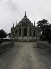 Domaine de la chapelle royale Saint-Louis - Chevet de la chapelle royale Saint-Louis de Dreux (28).
