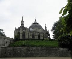 Domaine de la chapelle royale Saint-Louis - Français:   Chevet de la chapelle royale Saint-Louis de Dreux (28).