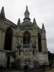 Domaine de la chapelle royale Saint-Louis - Français:   Chapelle axiale et chapelle de Mecklembourg de la chapelle royale Saint-Louis de Dreux (28).