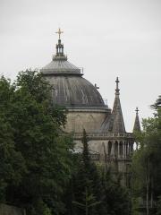 Domaine de la chapelle royale Saint-Louis - Français:   Dôme de la chapelle royale Saint-Louis de Dreux (28).