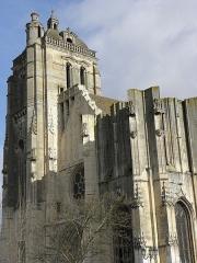 Eglise Saint-Pierre - Façade occidentale de l'église Saint-Pierre de Dreux (28).