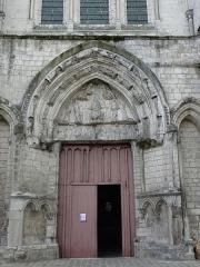 Eglise Saint-Pierre - Portail du transept nord de l'église Saint-Pierre de Dreux (28).