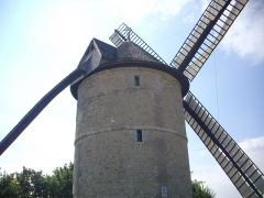 Moulin à vent de Frouville-Pensier - Moulin de Frouville-Pensier, à Ozoir-le-Breui (Eure-et-Loire, France)