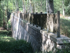 Ancien aqueduc de Pontgouin à Versailles (également sur communes de Maintenon et Berchères-Saint-Germain) - Français:   Écluses de Boizard, partie du fr:Canal de l\'Eure sur la commune de Pontgouin (Eure-et-Loir).