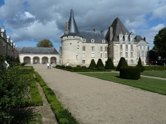 Château d'Azay-le-Ferron - Français:   château