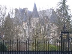 Château Raoul - English: Raoul's castle, in Châteauroux, Indre, France.