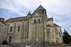Eglise Notre-Dame - Français:   Face Sud de l\'église Notre-Dame de Châtillon-sur-Indre.
