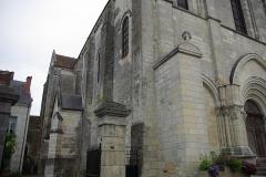 Eglise Notre-Dame - Français:   Face Nord de l\'église Notre-Dame de Châtillon-sur-Indre.