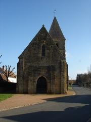 Eglise Saint-Martin - Français:   Lacs (36): L\'église Saint-Martin.