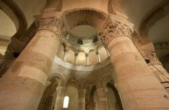 Eglise Saint-Etienne - English: ref: PM_009571_F_Neuvy Saint-Sépulcre; Rotonde, copie du Saint Sépulcre de Jérusalem (Xième et XIIème sciècle), élévationRéférences: