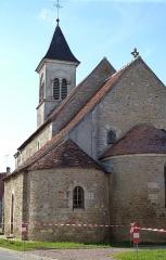 Eglise Saint-Martin de Vicq - Français:   St Martin