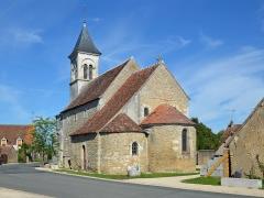 Eglise Saint-Martin de Vicq - Français:   Eglise Saint-Martin de Vic, Nohant-Vic, 2014.
