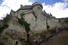 Château - Français:   Angle Sud-Ouest du château de Palluau-Frontenac.