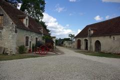 Château - Français:   Dépendances du château de Palluau-Frontenac.