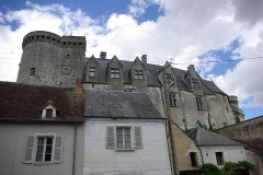 Château - Français:   Face Sud du château de Palluau-Frontenac.