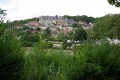 Château - Français:   Vue générale du château de Palluau-Frontenac.