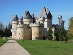 Château du Chabenet - Français:   Château de Chabenet (XVe), au Pont-Chrétien-Chabenet (Indre).