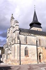 Eglise de Pont-Chrétien - This building is inscrit au titre des monuments historiques de la France. It is indexed in the base Mérimée, a database of architectural heritage maintained by the French Ministry of Culture,under the reference PA00097432 .