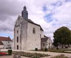 Eglise Saint-Genou (ancienne abbatiale) - Deutsch:   Kirche Sainte-Vierge in der französischen Ortschaft Saint-Genou im Département Indre