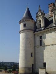 Château - Château royal d'Amboise (Indre-et-Loire, France), aile sud côté est du logis