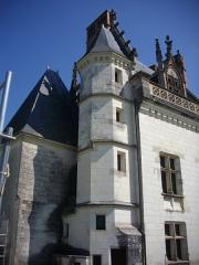 Château - Château royal d'Amboise (Indre-et-Loire, France), tour de l'aile ouest