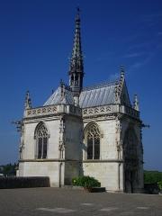 Château - Chapelle Saint-Hubert du château royal d'Amboise (Indre-et-Loire, France)