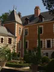 Château du Clos-Lucé - Le Château du Clos Lucé, dernière demeure de Léonard de Vinci, à Amboise en Indre et Loire