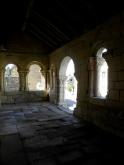 Eglise Notre-Dame - Français:   Porche de l\'église Notre-Dame d\'Avon-les-Roches (37).
