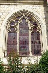 Eglise paroissiale Saint-Germain - Français:   Vitrail de l\'église Saint-Germain de Benais.