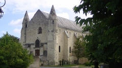 Abbaye bénédictine de Saint-Pierre de Bourgueil - English: Abbey of Saint-Pierre de Bourgueil